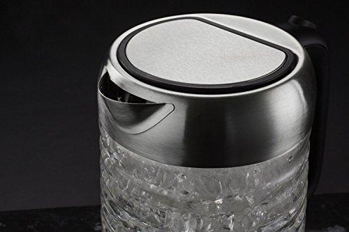 -[ Andrew James Fast Boil Glass Kettle, 1.7 Litre, 3000W  ]-