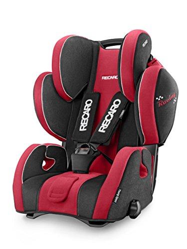 Recaro 6203.21414.66 Young Sport Hero, mitwachsender Kindersitz für Gruppe I-III mit integriertem 5-Punkt-Gurt, 57 x 47 x 65-90 cm