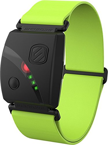 Scosche Rhythm24 - Waterproof Armband Heart Rate Monitor - Green (Scosche Rhythm Heart Rate Monitor Armband Review)
