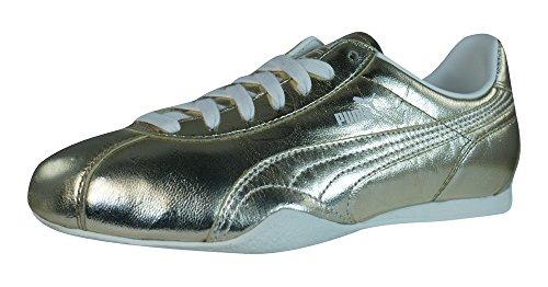 Femme Puma Sneakers En Met Pour Or Barnett Vintage Cuir AAwS01q