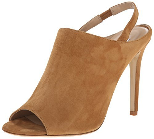 Diane von Furstenberg Women's Violet Tan Kid Suede 10.5 B - Medium from Diane von Furstenberg