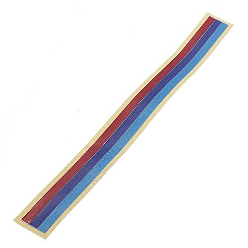 GOZAR Rejilla Vinilo Strip Pvc Pegatina Etiqueta Para Bmw M3 M5 E36 E46
