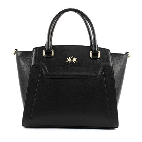 La Martina Portena Handtasche schwarz