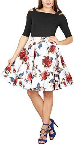 Full Skirt Fully Lined Skirt - 5