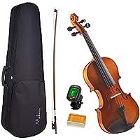 Violino 4/4 Makanu Envernizado com Estojo Breu E Afinador