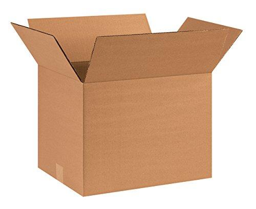 "Aviditi 161212 Corrugated Box, 16"" Length x 12"" Width x 12"" Height, Kraft (Bundle of 25) from Aviditi"