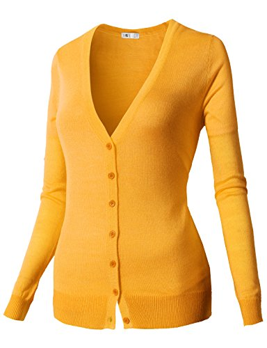 Womens Medium Yellow Sweater