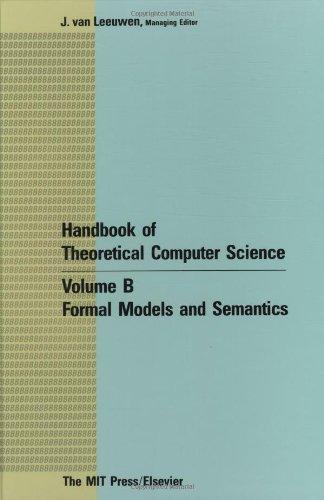 Handbook of Theoretical Computer