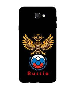 ColorKing Football Russia 25 Black shell case cover for Samsung J5 Prime