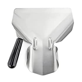 New Star 42344 Stainless Steel Commercial French Fry Bagger, Left Handle