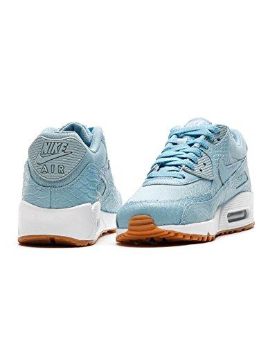 Nike Wmns Max 90 PRM, Entrenadores Para Mujer Bleu clair