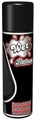 Wet Platinum Premium Silicone Lubricant 3.1 fl.oz/93mL