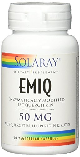 Solaray Emiq 50 mg VCapsules, 30 Count