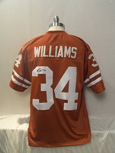 Ricky Williams Signed Texas Longhorns University Autographed Jersey
