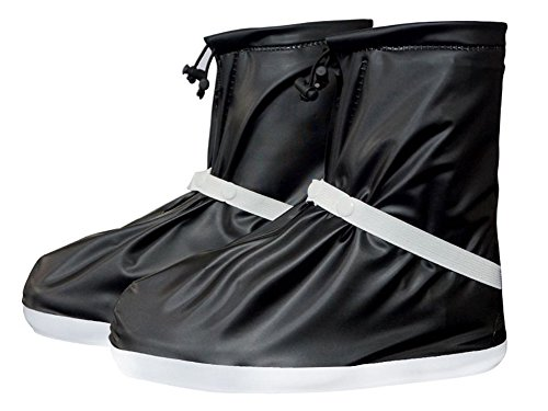 アイデア合計グラディスeagsouni雨靴カバー防水滑り止め再利用可能な折りたたみ式雨雪ブートOvershoes forレディースメンズキッズ自転車オートバイ