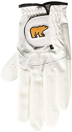 Jack Nicklaus Men's 18 Majors Syntheric Golf Glove, bright white, Regular: Medium (Jack Nicklaus Golden Bear Golf Clubs Review)