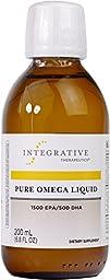 Integrative Therapeutics - Pure Omega Liquid - 1500 EPA / 500 DHA - Natural Lemon Flavor - 6.8 fl oz