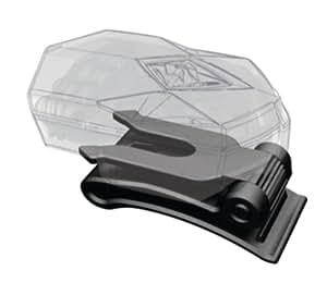 Blackburn 3540252 FLEA - Adaptador de pinza para linterna frontal, color negro