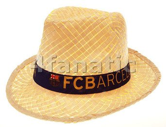 7df821c49cd Image Unavailable. Image not available for. Colour  Straw Hat FC Barcelona