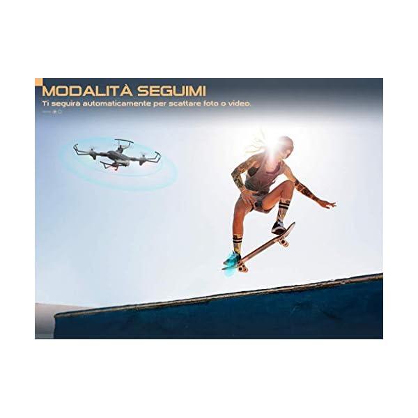 SNAPTAIN SP500 1080P Drone con GPS Telecamera FHD, Trasmissione WiFi 5G, modalità Ritorno Home, modalità Seguimi, Controllo dei Gesti, Volo Circolare, modalità Hover per i Principianti 3 spesavip