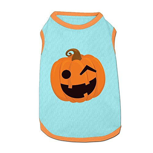 Jmirelife Halloween Pumpkin Love Lovely Pet Dog Puppy Cat Kitten Polo T-Shirt Clothes Coats Outfit Tops -