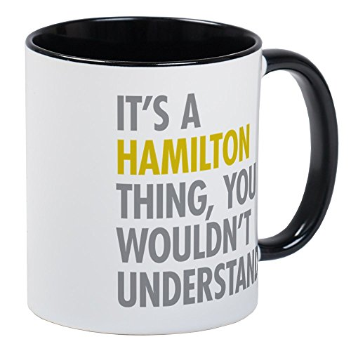 CafePress Hamilton Thing Mugs Unique Coffee Mug, Coffee Cup