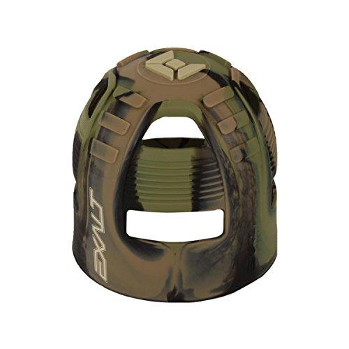 Exalt Paintball Tank Grip - 45-88ci - Jungle Camo -