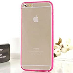YXF Frosted Translucent TPU+PC Soft Case for iPhone 6 Plus (Assorted Colors) , Purple