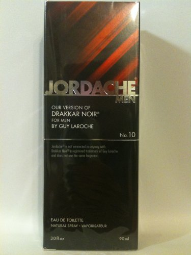 (Jordache Mens Fragrance #10 - Version of Drakkar Noir - 3 oz Spray)