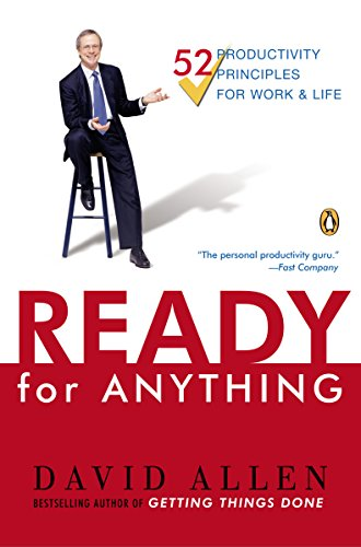 Ready for Anything: 52 Productivity Principles for Getting Things Done cover