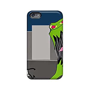 Shock Absorption Cell-phone Hard Covers For Iphone 6plus With Allow Personal Design Lifelike Green Day Series KaraPerron