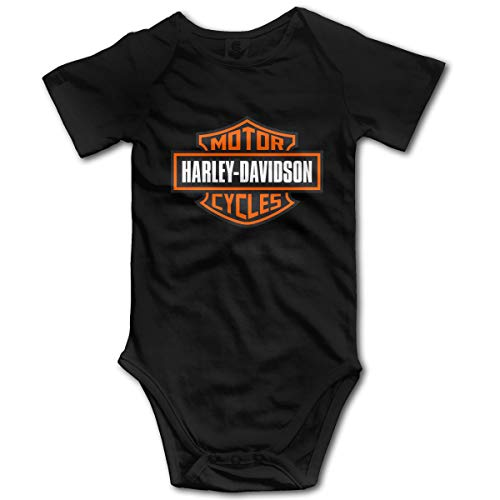 Baby Bodysuit Harley Davidson Logo Infant Romper Climbing Clothes Funny Jumpsuit Outfits
