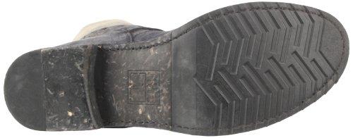 3820L stivali donna FRYE veronica short scarpe boots shoes women marrone/nero/beige