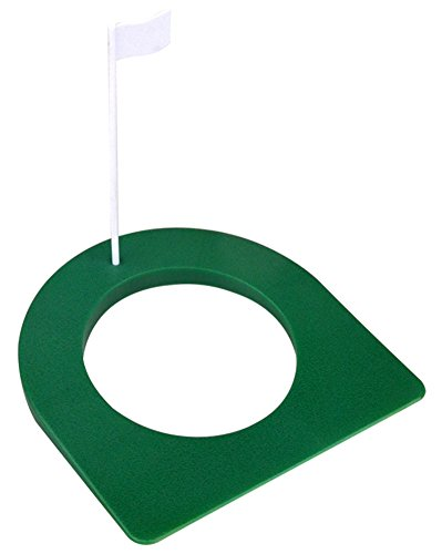 C-Pioneer Indoor Outdoor Golf Practice Putting Cup Golf Training Putter with Flag