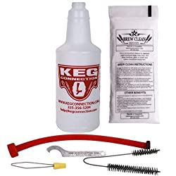 Kegconnection Kegerator Beer Line Cleaning Kit