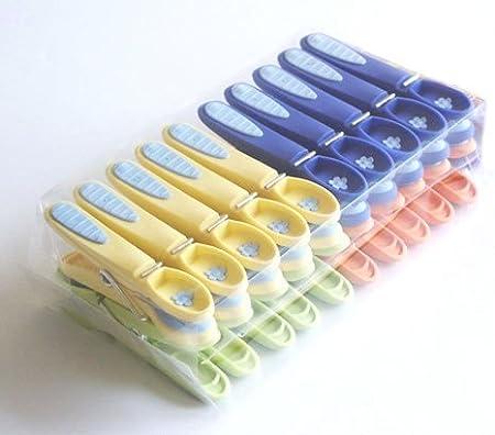 Paquete de 60 Clavijas de lavado antideslizantes Caraselle Extra Strong
