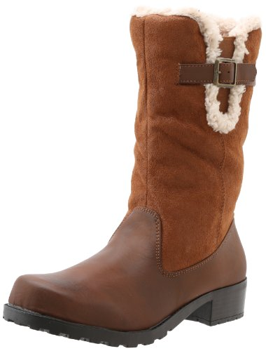 Trotters Women's Blizzard III Snow Boot - Cognac - 5.5 B(...