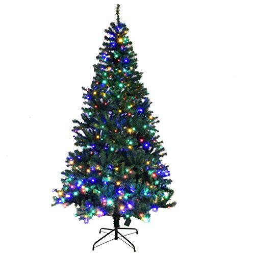 Artificial Christmas Tree With Led Lights in US - 6