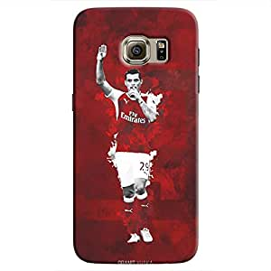 Cover It Up - Granit Xhaka Red Galaxy S7 Hard Case