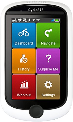 Magellan CY0315SGHNA Cyclo 315hc GPS Cycling Computer with Ant+ Heart Rate Monitor (Elevation Computer)