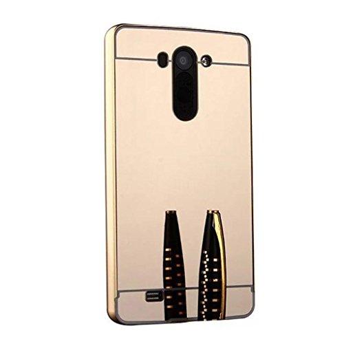 DDLBiz Luxury Metal Frame Mirror