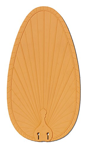 Fanimation BPP4TN Wide Oval Composite Palm Blade, 22-Inch, Set of 5 by Fanimation