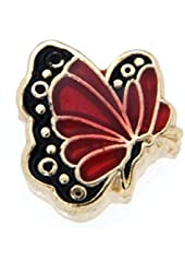 July Butterfly Enamel Birthmonth Charm for Floating Lockets
