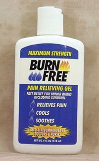 4990439 PT# 4B2400 Burnfree Burn Relief Gel 4oz in Squeeze Bottle Ea Made by Burn Free Products ()