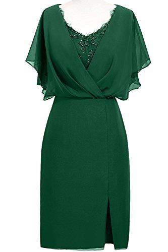 Fanciest Vestido Verde para trapecio mujer gn0pqrag