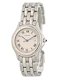 d50e8e129a9 Panthere de Cartier Quartz Male Watch 987904 (Certified Pre-Owned)