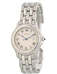Panthere de Cartier Quartz Male Watch 987904 (Certified Pre-Owned)