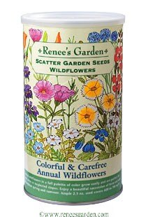Carefree Annual Wildflowers Scatter Garden
