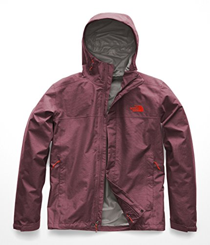 The North Face Men's Venture 2 Jacket - Fig Heather & Fig Heather - XL by The North Face