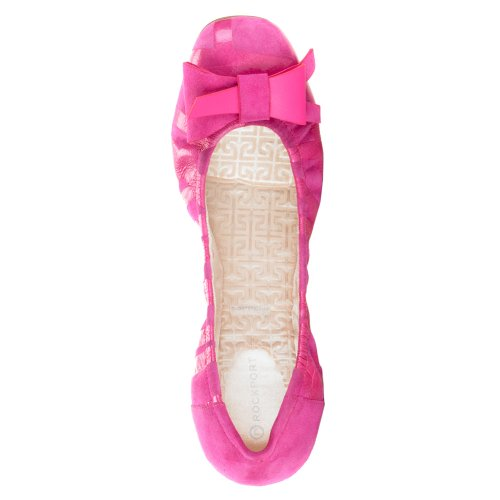 Eu Printed Women Multicolor 36 Rockport Daya Magenta Flats Ballet Eqxg8OP